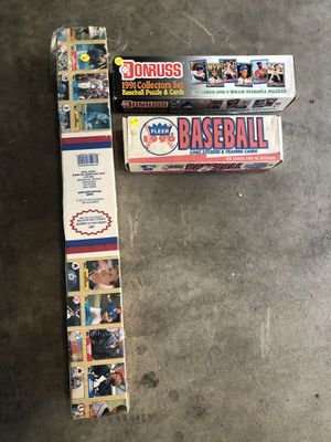 3 Boxes of Baseball cards for Sale in Spartanburg, SC
