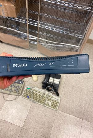 Netopia Ethernet modem/router for Sale in Irvine, CA