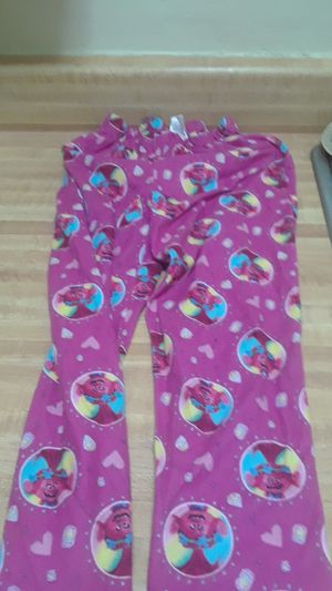 DreamWorks Trolls little girl's Pink Pajama Outfit. Size 8 for Sale in Long Beach, CA