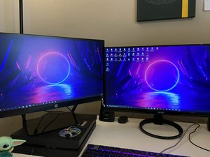Dual monitor setup for Sale in Tampa, FL
