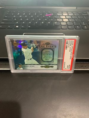 Rare Derek Jeter baseball card PSA for Sale in West Valley City, UT