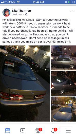 Selling my 200 Lexus for Sale in Philadelphia, PA