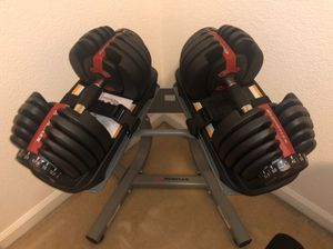 Bowflex 552 , weight stand and Bench for Sale in Sacramento, CA