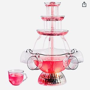 MULTI-TIER LIGHTED DRINK FOUNTAIN for Sale in Columbia, MD
