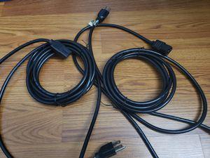 Monitor power cables for Sale in Occoquan, VA