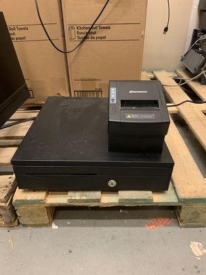 Printer whit cash register for business use for Sale in Providence, RI
