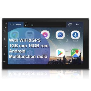 Double Din Car Stereo with GPS Navigation,7 inch Quad-Core Android 9.1 Touch Screen in Dash Navigation Car Radio Video Player with Bluetooth GPS WiFi for Sale in Anaheim, CA