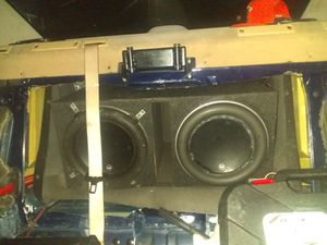 JL 12w7 and kicker zx1500.1 for Sale in Colorado Springs, CO