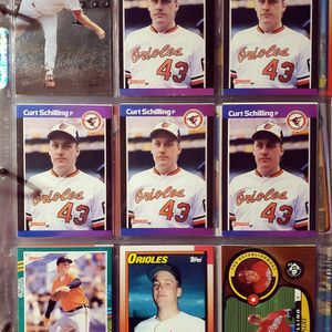☆CURT SCHILLING BASEBALL CARDS☆ for Sale in Columbus, OH