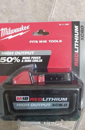 Milwaukee Battery M18 ( Firm Price/Precio fijo) for Sale in Los Angeles, CA