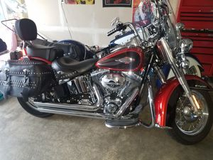 2013 Harley Davidson Heritage. 1800 Low Miles. Title In Hand. Mint Condition. $11,000 Firm On Price for Sale in Seattle, WA