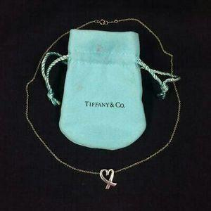 Tiffany & Co. Sterling Silver 925 Necklace Loving Heart Pendant for Sale in Atlanta, GA