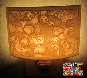One Piece Luffy Anime Inspired Night Light for Sale in Oakland Park, FL