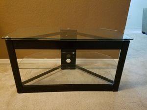 Glass Black TV Stand for Sale in Orlando, FL