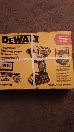 Dewalt 20v Impact Driver Kit for Sale in Albuquerque, NM