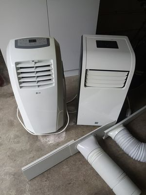 2 portable AC units. LG, Kenmore for Sale in Lake Forest Park, WA