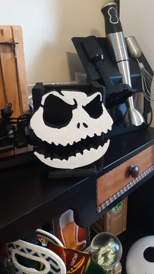 Nightmare Before Christmas NBC jack skellington shelf or wall organizer for Sale in Chicago, IL
