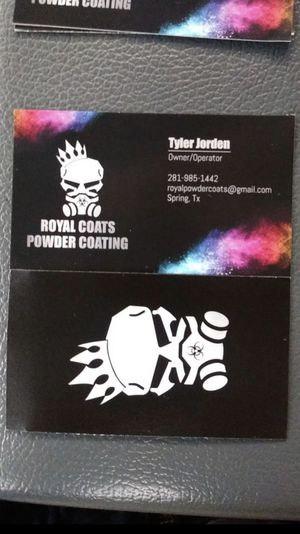 Royal Coats Powder Coating for Sale in Spring, TX