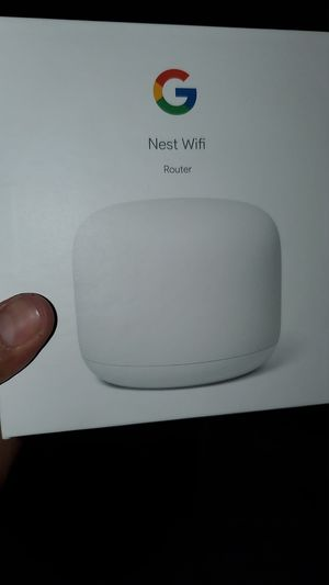 Google nest wifi router for Sale in Riverside, CA