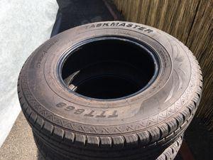 6 Taskmaster 235/80 16 trailer tires for Sale in Arcadia, CA