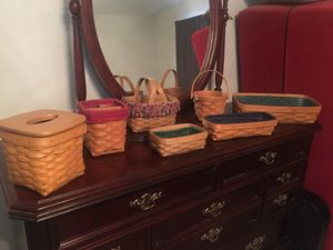 Longaberger Baskets for Sale in Fort Worth, TX