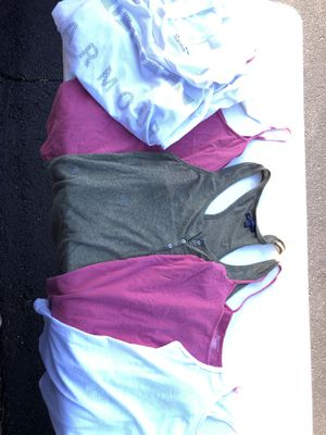 Women's sport tank tops and hoodie (5) pieces for Sale in Sudley Springs, VA