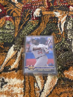 Kirby Puckett Triple Crown Card for Sale in Fort Washington,  MD