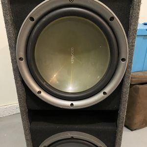 """10"""" Kenwood Speakers And Nitro Amp 1200w for Sale in Las Vegas, NV"""