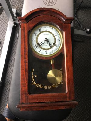Old antique pendulum clock for Sale in Chantilly, VA