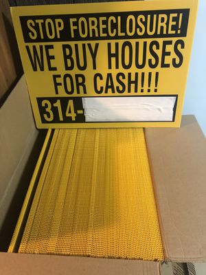 90 Farming signs and Dbl H-stands for Sale in St. Louis, MO