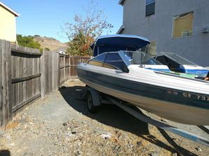 1985 16' Bayliner Capri Outbored open bow with trailer. for Sale in Vallejo, CA