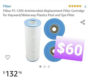 Filbur FC-1293 Antimicrobial Replacement Filter Cartridge for Hayward/Waterway Plastics Pool and Spa Filter, para alberca for Sale in Pomona, CA