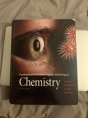 Fundamentals of General, Organic, and Biological Chemistry for Sale in Anaheim, CA