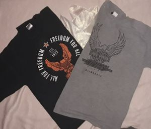2 harley-davidson t-shirts for Sale in Cleveland, OH