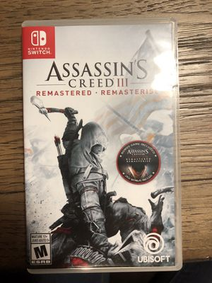 Assassin's creed 3 for Sale in Fresno, CA
