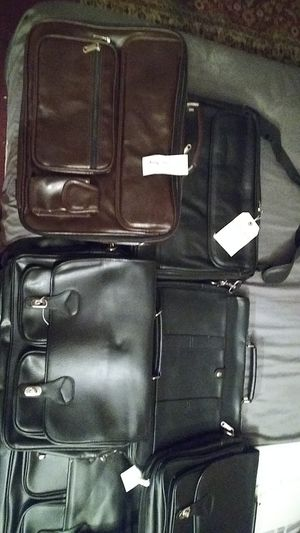 Real leather brief cases or hand bags for Sale in Montclair, CA