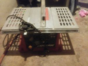 Skil saw table saw for Sale in Abilene, TX