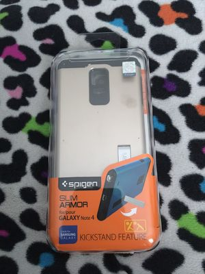Galaxy Note 4 Spigen Slim Armor Case for Sale in Frostproof, FL