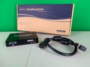 Matrox DualHead2Go Digital Edition for Sale in Tamarac, FL