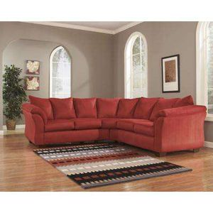 Large 3 piece sectional couch/ sofa with bed and recliner for Sale in Saint Cloud, FL