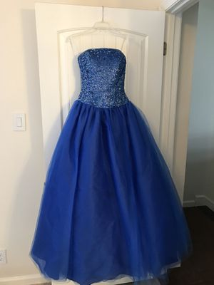 Prom / Quinceanera Dress Beaded Royal Blue for Sale in Austin, TX