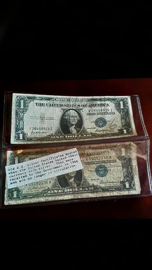 Silver certificates set years 1957 and 1935 for Sale in Las Vegas, NV