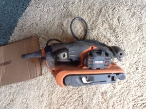 Rigid belt sander for Sale in Payson, AZ