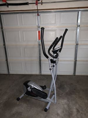 Sunny Health and Fitness Elliptical - Slightly Used for Sale in St. Louis, MO
