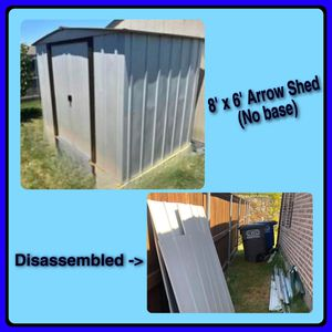 Arrow shed 8x6 (disassembled) for Sale in Forney, TX