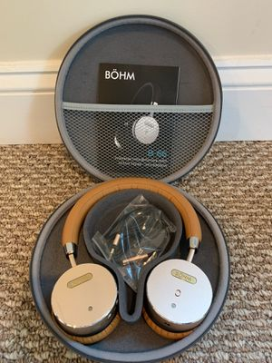 **not available** Bohm B-66 wireless headphones with active noise cancellation for Sale in Alexandria, VA