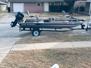 1994 bass tracker tournament tx17 for Sale in Oklahoma City, OK