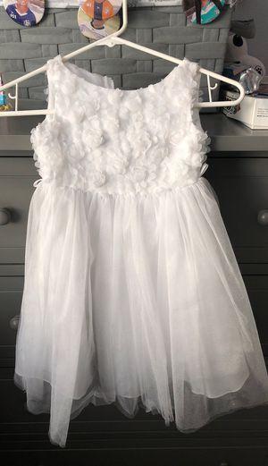 Girls white dress size 1-2 for Sale in Menifee, CA