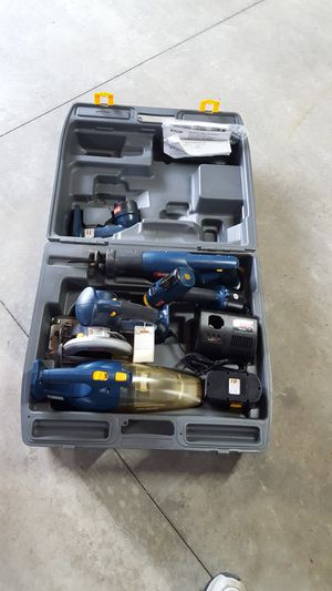 Ryobi 5 piece tool set with case for Sale in Clinton, IL