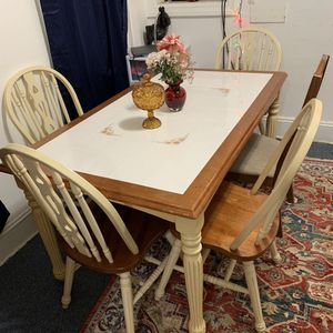 Table Ceramic Wood Beautiful for Sale in Norfolk, VA